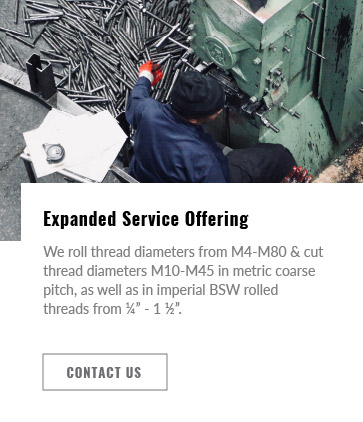 Accuthread Expanded Service Offering